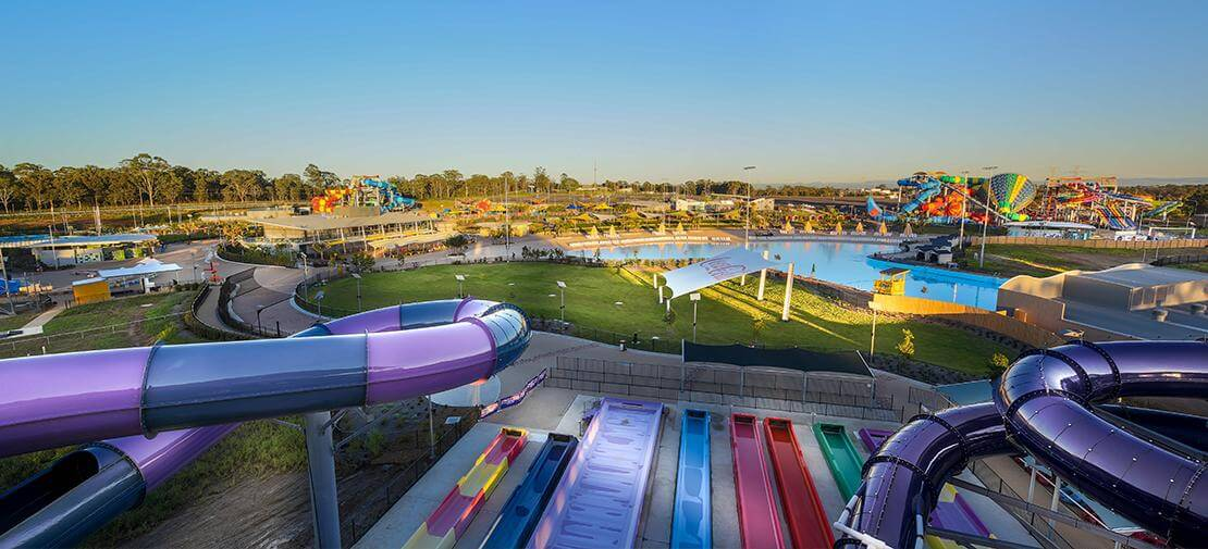 Raging Waters Sydney Slides