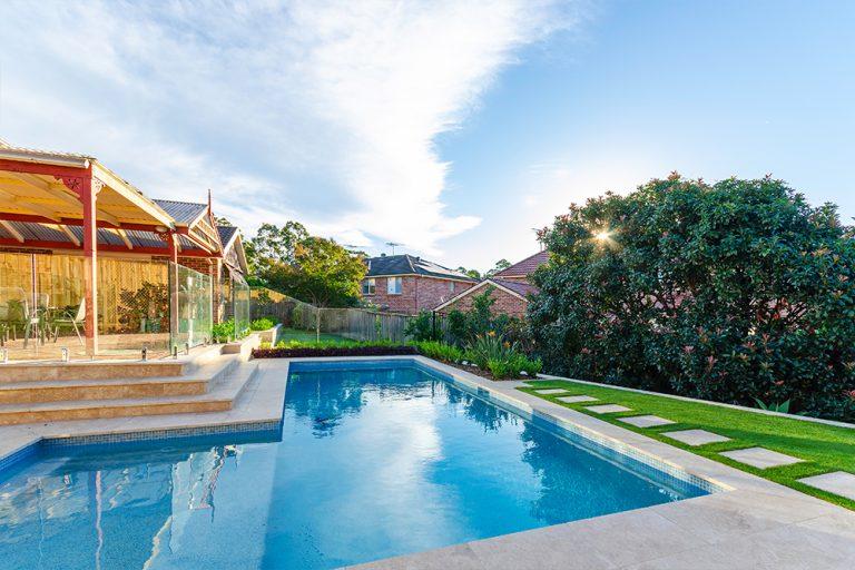 Backyard Oasis Residential Landscaping