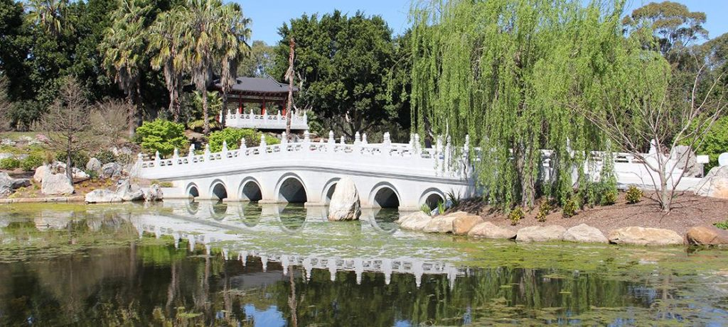 Chinese Gardens Bridge