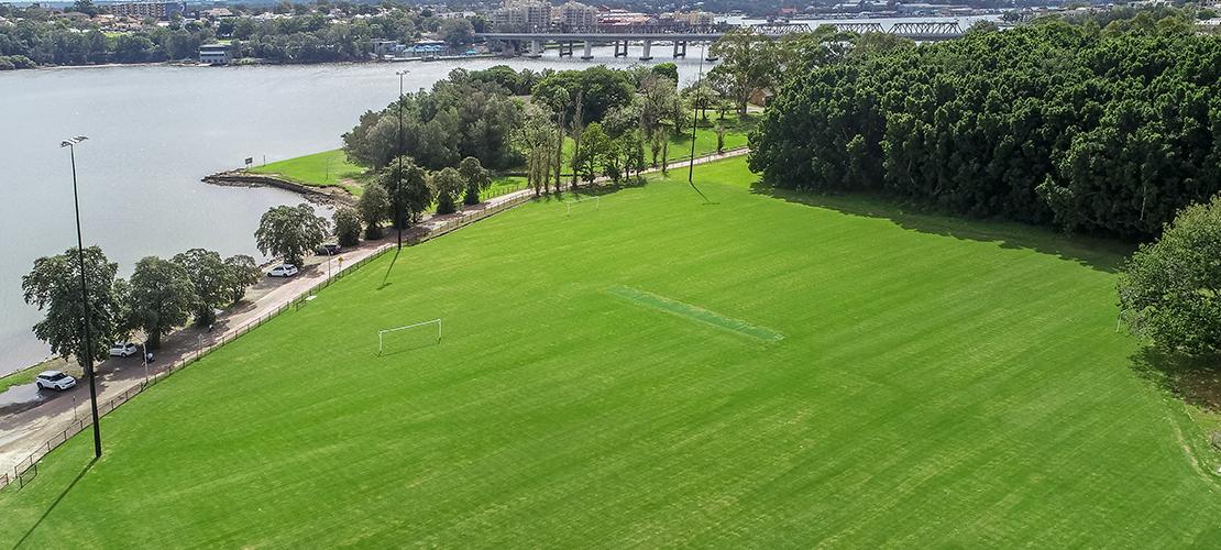 Waterfront Drive Sportsfield