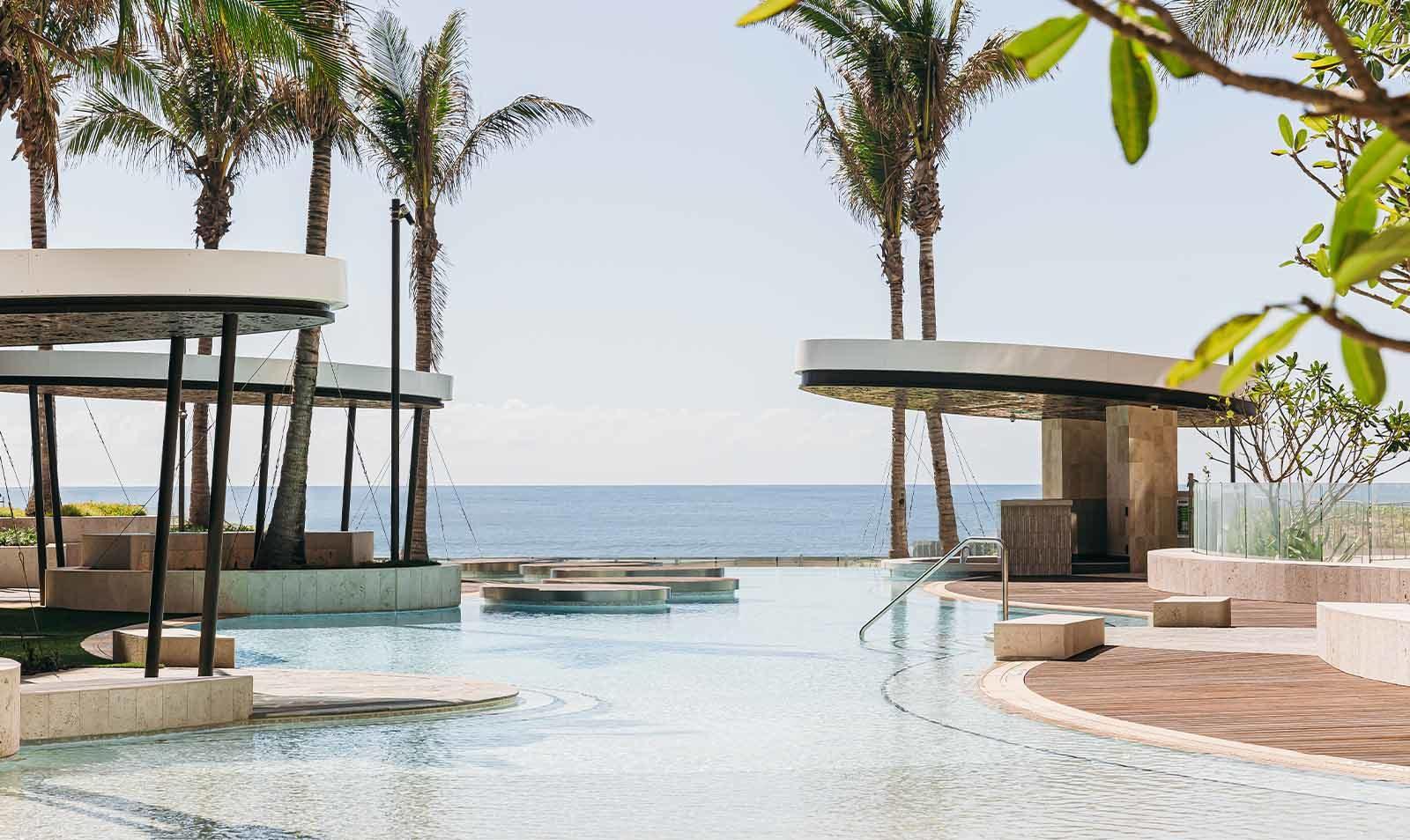 Jewel - View of pool and ocean behind