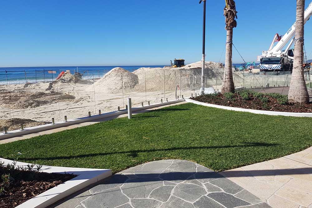 Jewel Sand Dune Construction