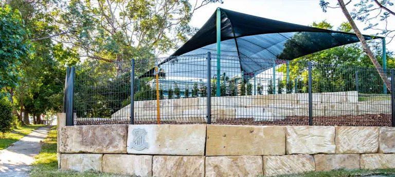 Pennant Hills Public School Sandstone Retaining Wall
