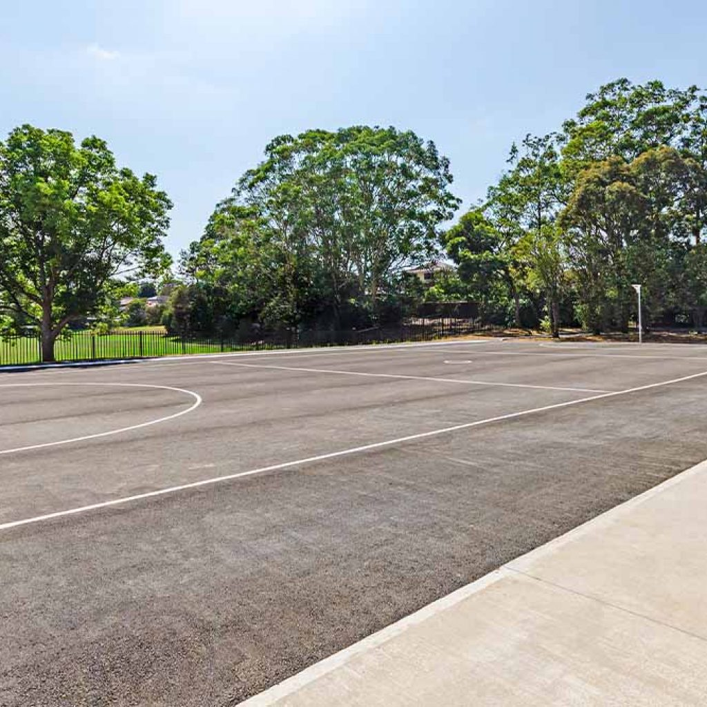 Smalls Road Public School Netball Courts