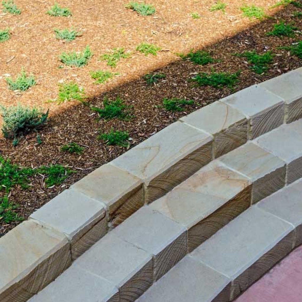 Smalls Road Public School Sandstone Retaining Wall