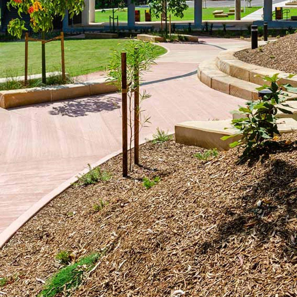 Smalls Road Public School Winding Pathways