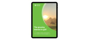 Blog Image - growing interest in golf ebook