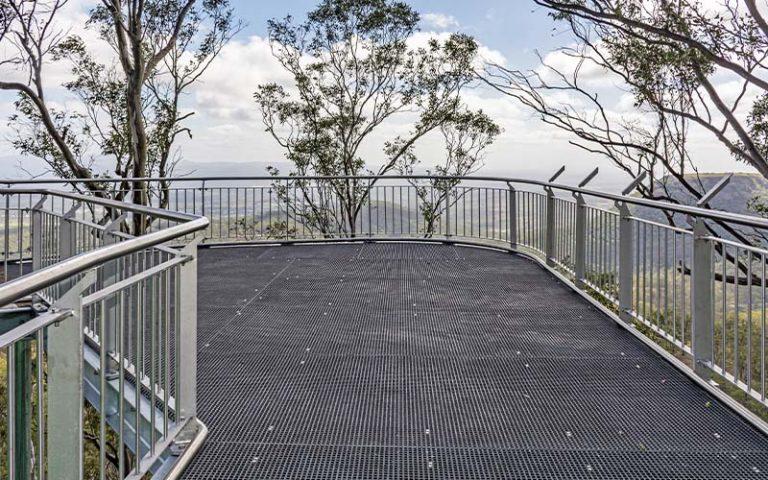 Tobruk Memorial Lookout Bridge