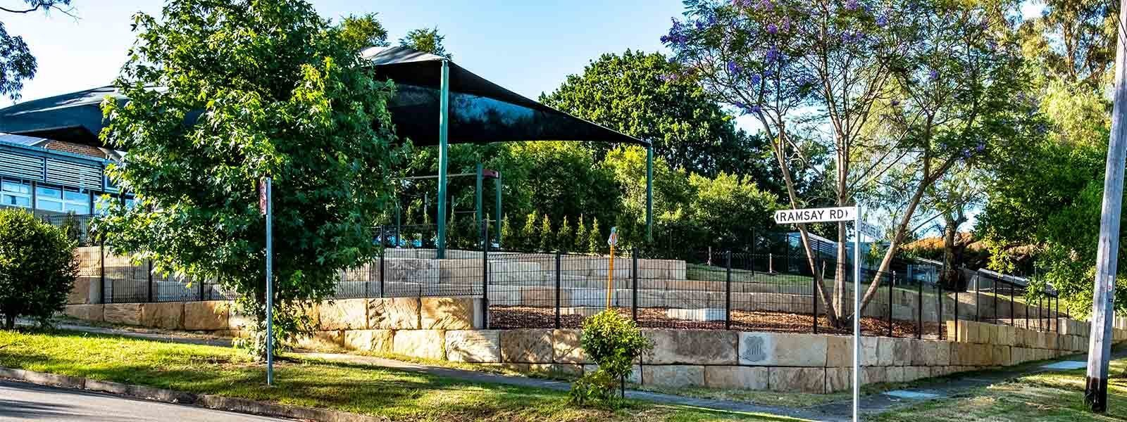 Pennant Hills Public School view from street