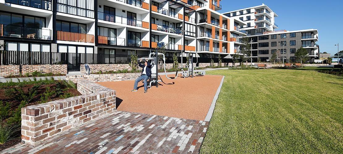 Tailor's Walk Landscape Construction